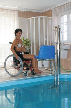 Elevateur de piscine Pool lift Lehner